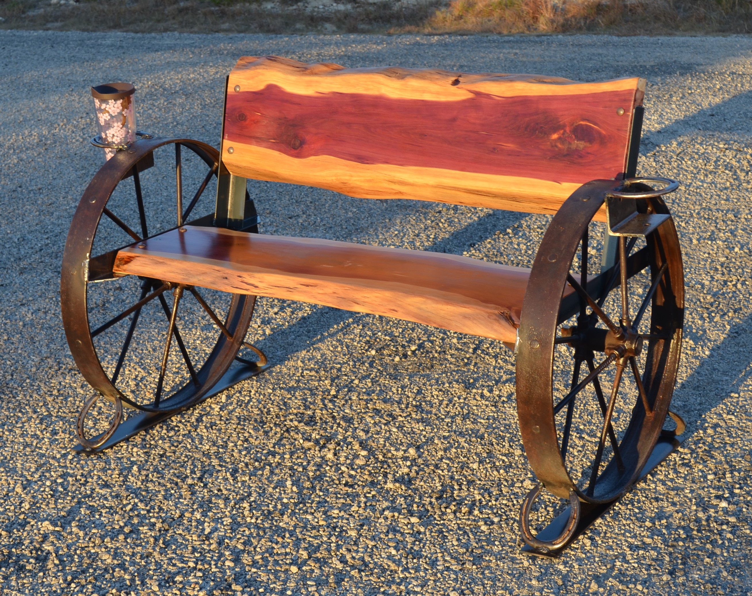 Steel Wagon Wheel Ideas Easy Craft Ideas