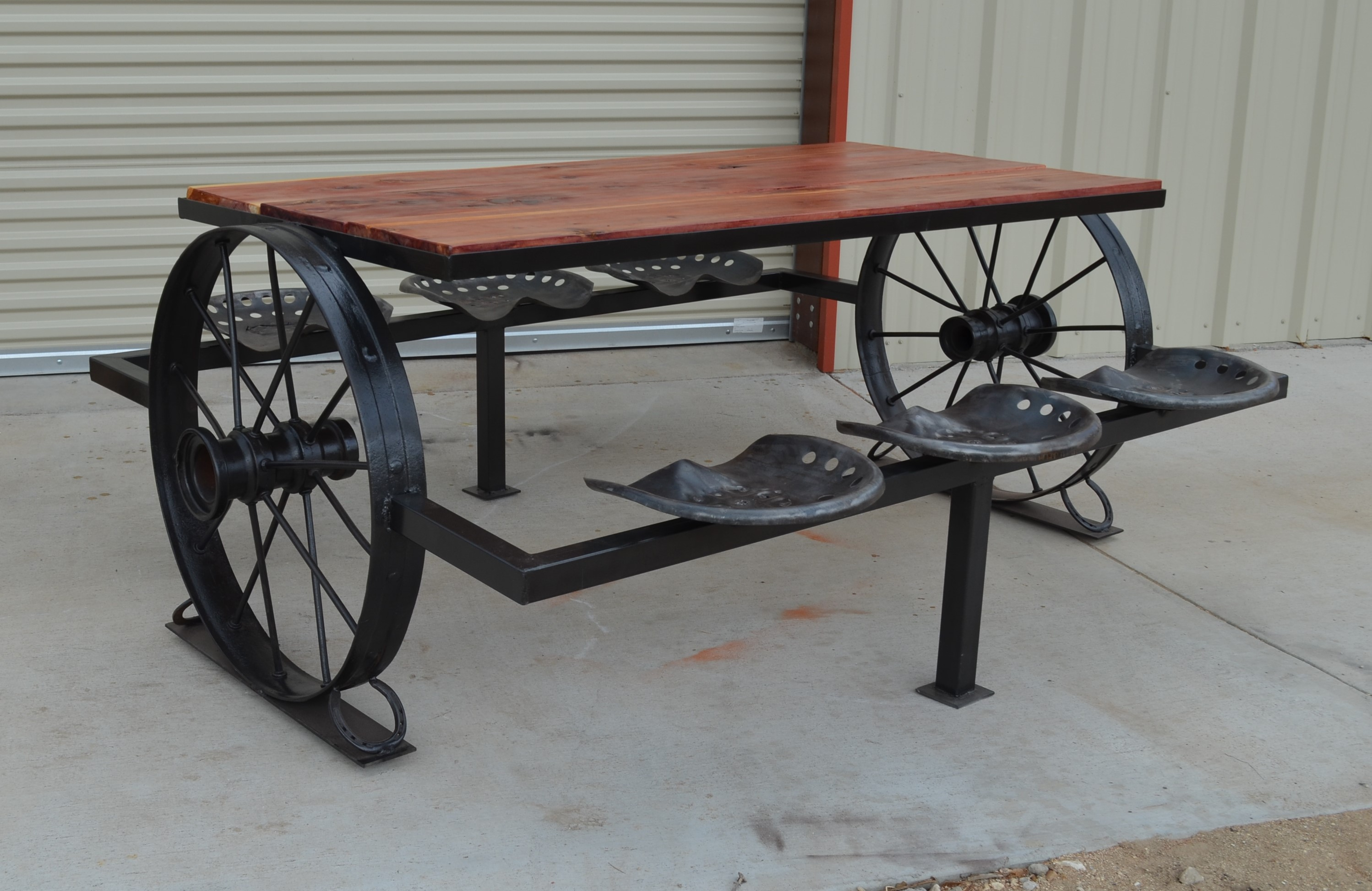 Sycamore Creek Creations - Dallas cowboys picnic table